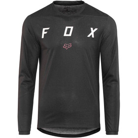 Fox Indicator Mash Camo LS Jersey Men black/black